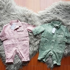 Gymboree Baby Girl Fall Denim Outfits Twins Set